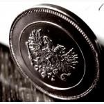 Редкая медная монета 10 пенни 1017 год