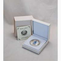 Продается Серебряная монета-трансформер Науру 10 $ Снегурочка 2008 год
