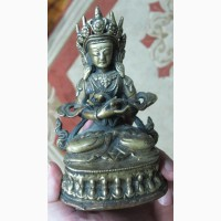 Бронзовая статуэтка Будда