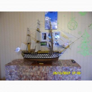 Продам модель гордость русского флота парусный линкор Двенадцать апостолов