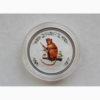 Продается Серебряная монета Австралии 50 (cents) Год Обезьяны 2004 год