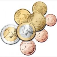 Куплю Евро монеты