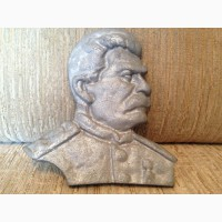 Барельеф Сталина аллюминий литьё