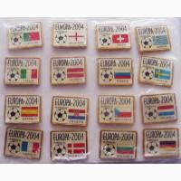 Значки Чемпионата Европы по футболу 2004 года в Португалии
