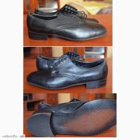 Продам кожаные мужские туфли винтаж