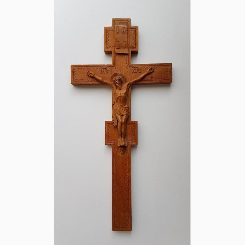 Фото 2. Старинный малый напрестольный крест. Русский Север, кон. XVIII – нач. XIX вв