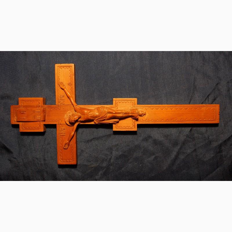 Фото 3. Старинный малый напрестольный крест. Русский Север, кон. XVIII – нач. XIX вв