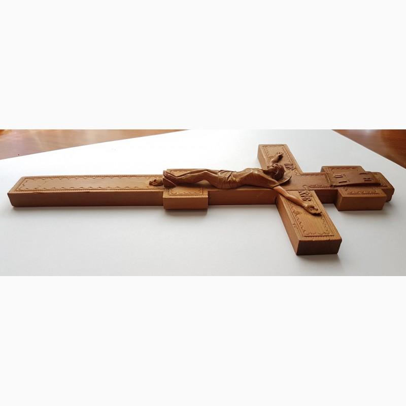Фото 4. Старинный малый напрестольный крест. Русский Север, кон. XVIII – нач. XIX вв