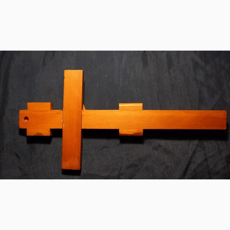 Фото 7. Старинный малый напрестольный крест. Русский Север, кон. XVIII – нач. XIX вв