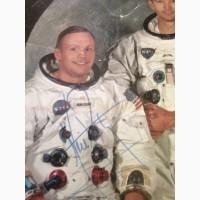 Продам фото Армстронга с подписью