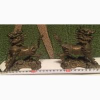 Бронзовые статуэтки Китайские собаки, Китай