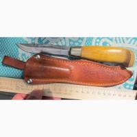 Финский нож охотника Мартини, старинный коллекционный