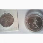 Монета крупная испанская Барселона 1992г футбол продам
