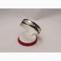 Продается Серебряный кубачинский браслет Rhombus с чернением