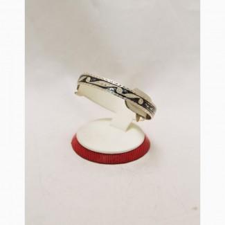 Продается Серебряный кубачинский браслет Foliage с чернением