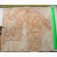 Карта Маньчжурии, Северо-Восточный Китай, 1920е годы