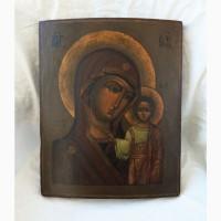 Продается Казанская икона Божией Матери. Конец XIX века