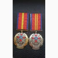 Медали. За личные достижения. 1, 2 степень. ВС Украина. Полный комплект