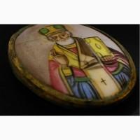 Продается Нательная икона Образ святого Николая Чудотворца
