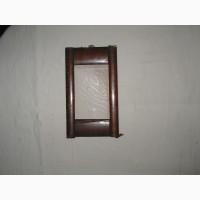 Старинная рамка для фотографии из карельской березы, без стекла