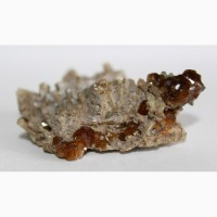Гроссуляр (гессонит), диопсид, друза кристаллов