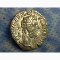 Серебрянная Монета Рима, Септимий Север или Антоний Пий