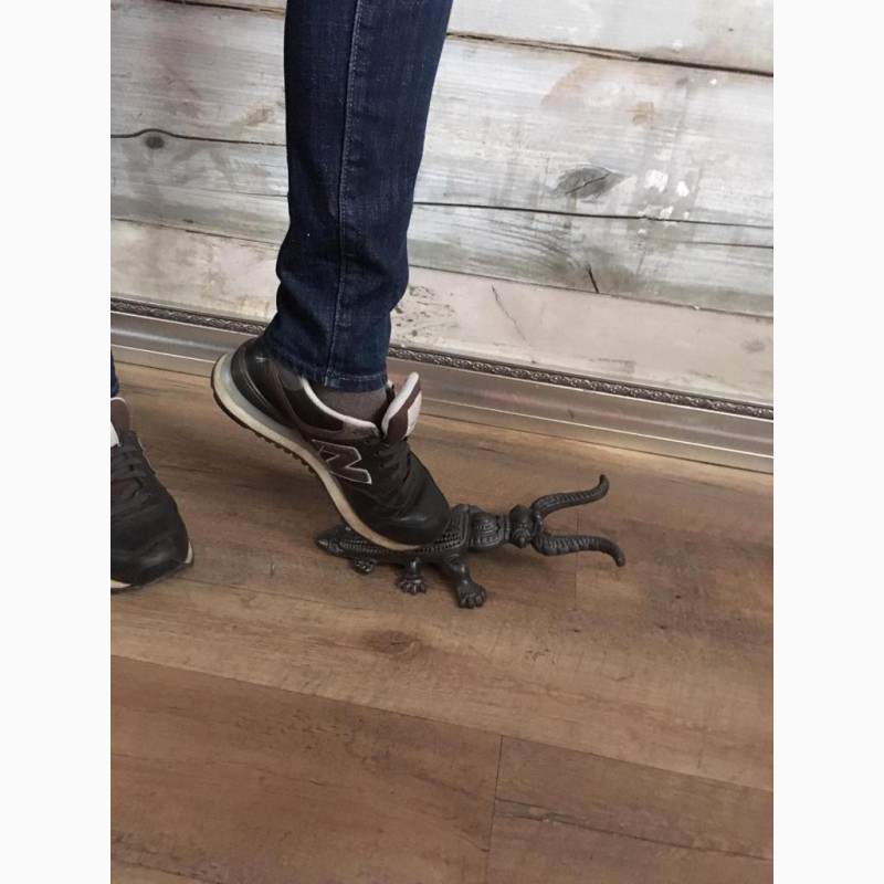 Фото 2. Жук Скарабей подставка для снятия обуви Чугун Ручная работа
